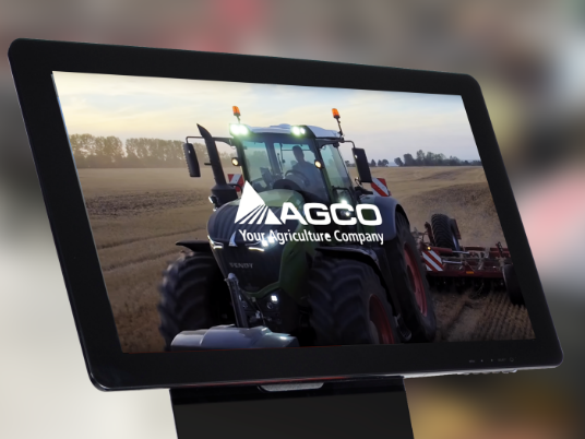 AGCO touchscreen